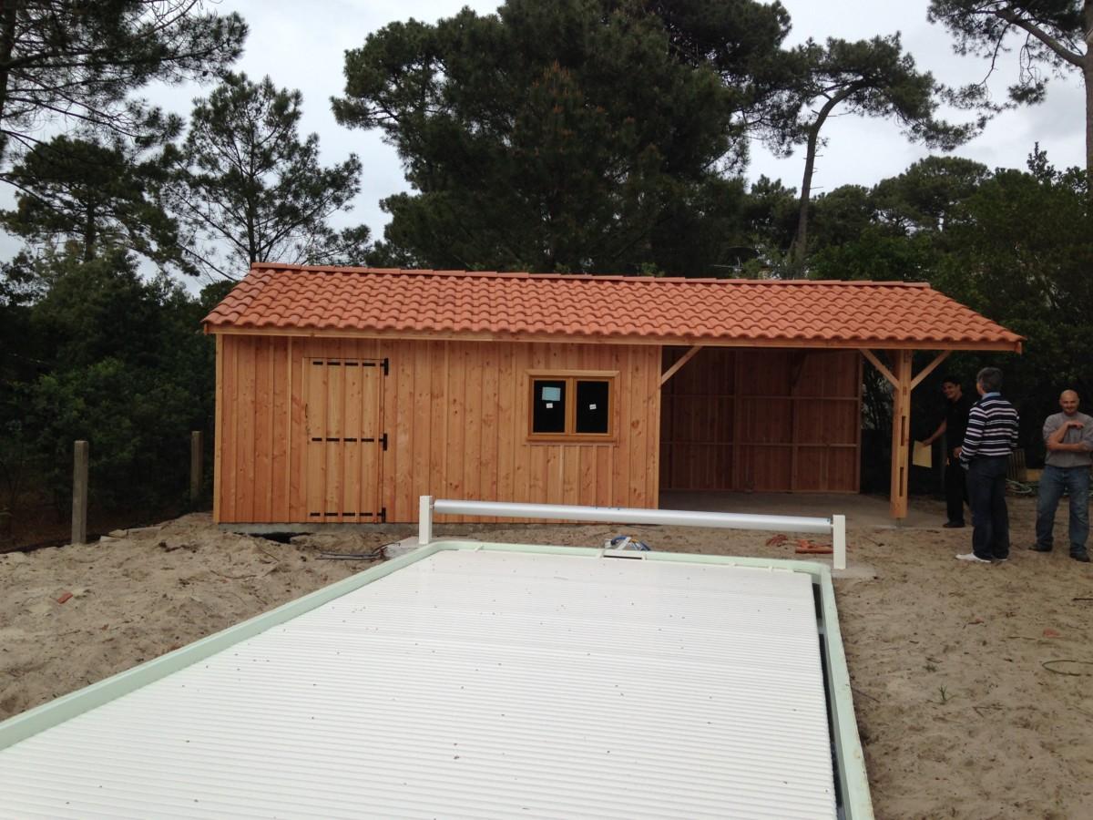 Pool house 8 les abris d 39 aquitaine abris de jardin bordeaux abris de jardin gironde - Abri de jardin pool house ...