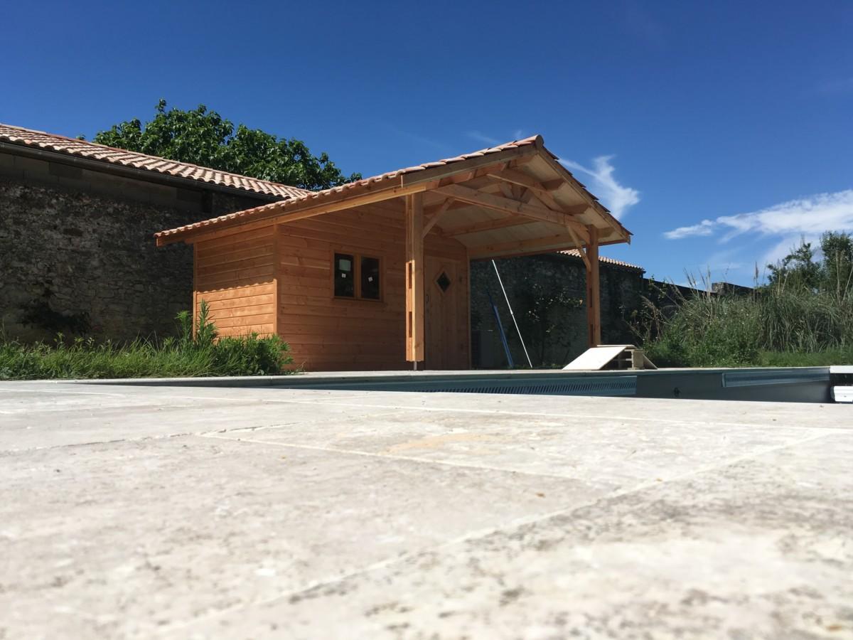 Pool house 10 les abris d 39 aquitaine abris de jardin bordeaux abris de jardin gironde - Abri de jardin pool house ...
